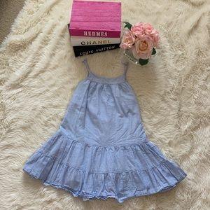 H & M Girls Summer Dress Stripes Size XS 6-7